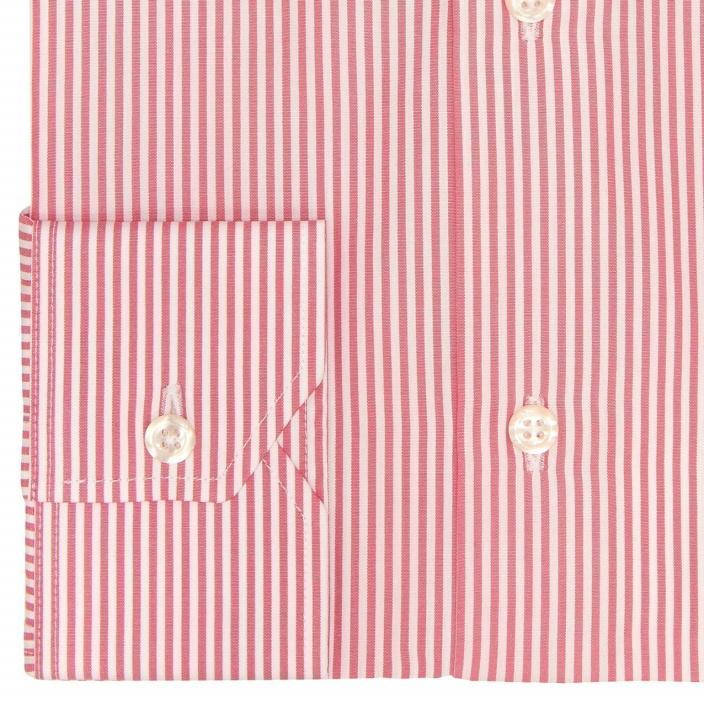 Garnet Red Stripe Shirt