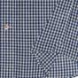 Dark-blue textured shirt