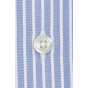 BLUE SHIRT WITH WHITE STRIPE