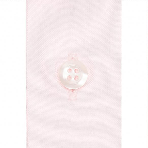 Chemise rose à col français