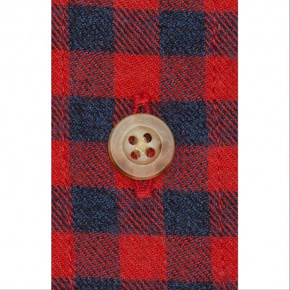 Chemise flanelle à carreaux rouge