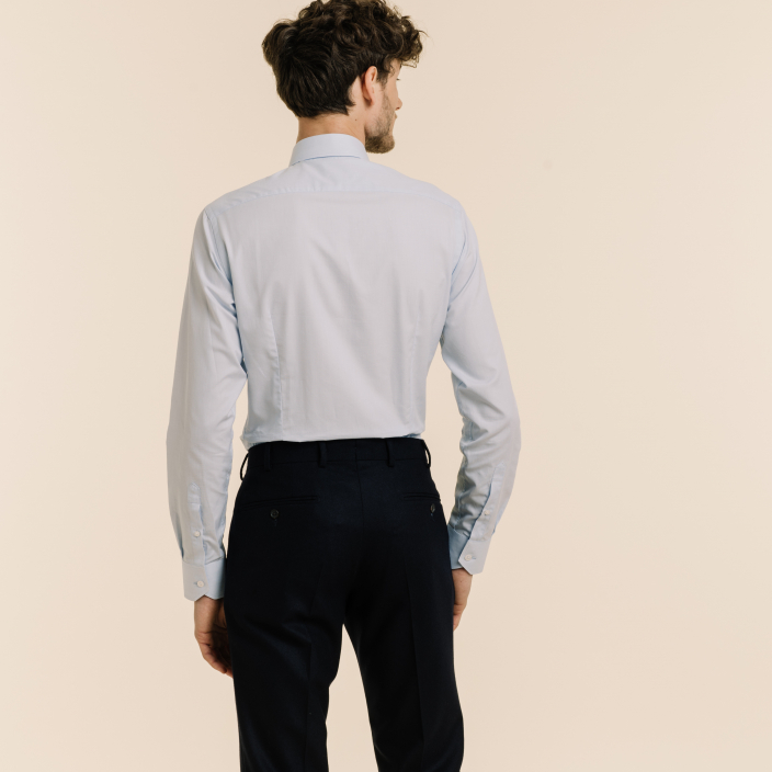 Extra-Slim Sky Blue Shirt