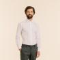 Extra-slim double cuff white shirt