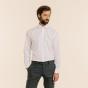 Premium classic fit pinpoint white shirt