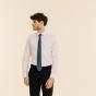 Cravate bleu denim
