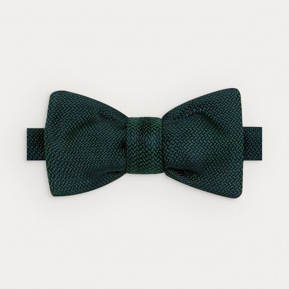 Green Silk Grenadine Bow Tie