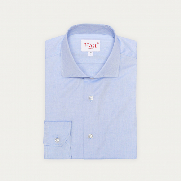 Extra-Slim Blue Shirt