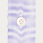 Premium classic fit oxford blue micro-houndstooth shirt