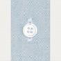 Chemise classique en oxford bleu-gris