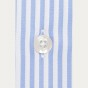 Slim fit blue stripes twill shirt