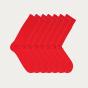 Semainier de chaussettes rouges