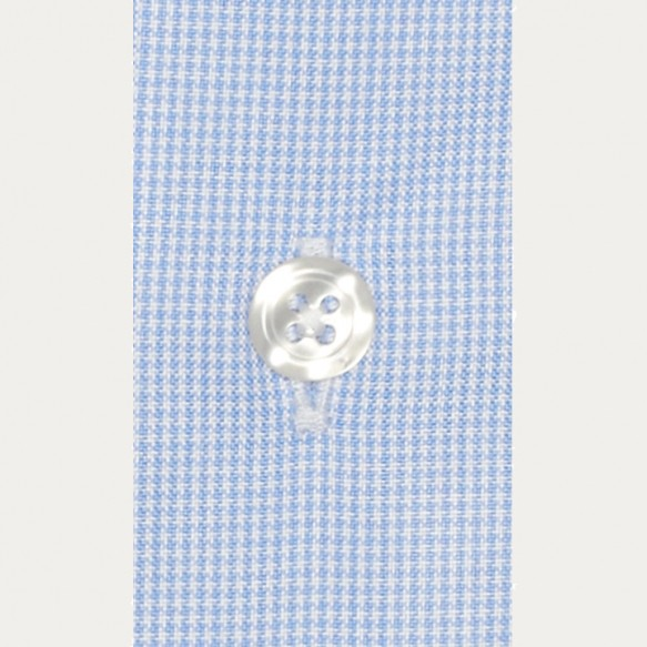Pied de Puce Light-Blue Shirt