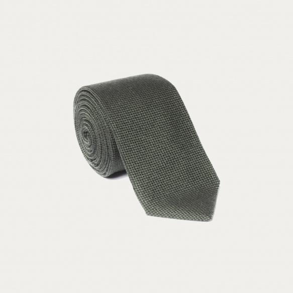 Cravate vert kaki
