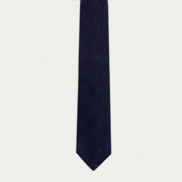 Cravate pucée bleue