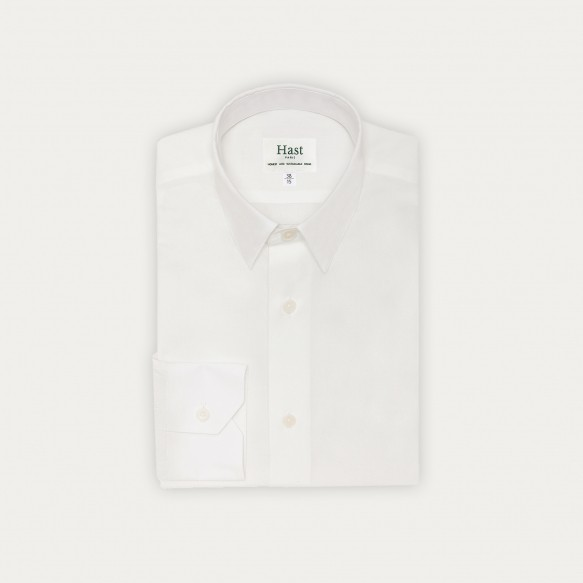 Classic fit white organic...