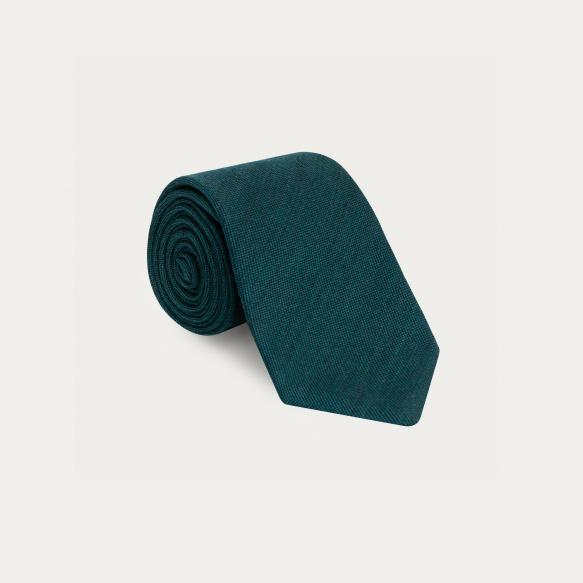 Cravate bleu canard