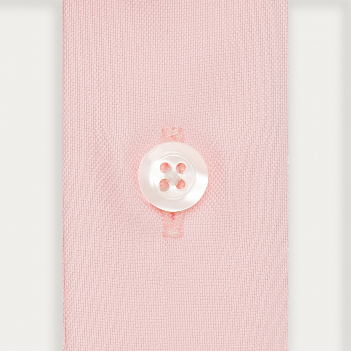 Extra-slim pink shirt with french collar