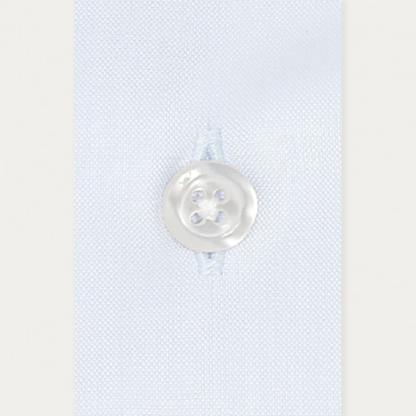 Slim fit light blue oxford...