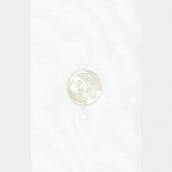 Chemise classique en popeline blanche