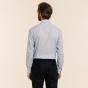 Classic fit blue checks twill shirt