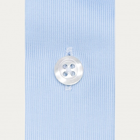 Slim fit poplin thin blue...