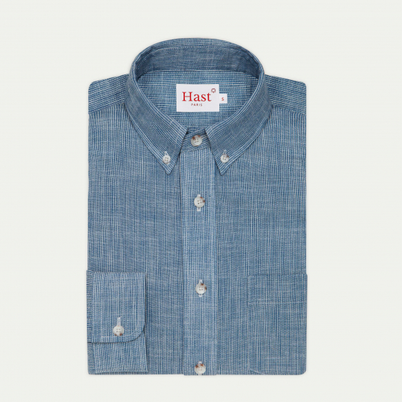 Selvedge chambray casual shirt
