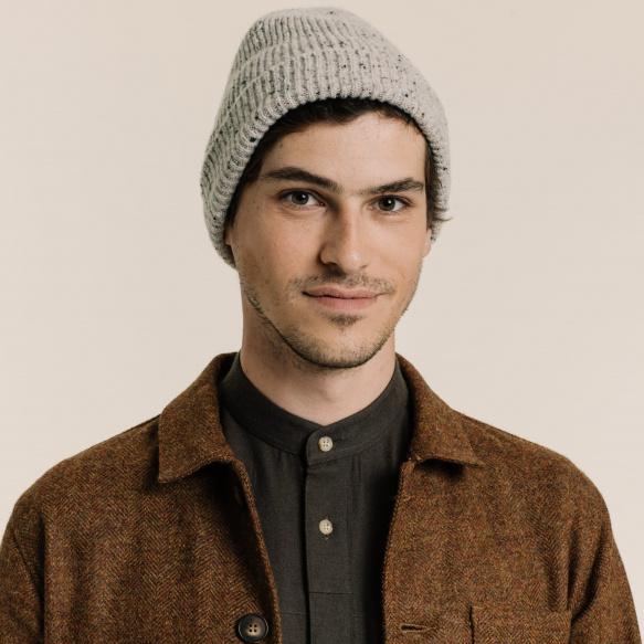 Heathered grey cap