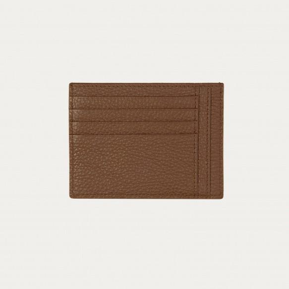 Brown ID holder