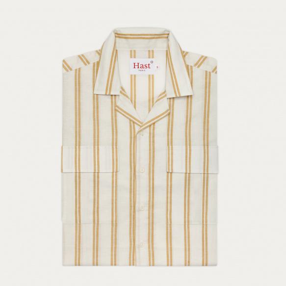 Short sleeves cotton, linen...