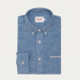 Japanese selvedge chambray casual shirt