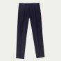 Navy blue flannel pants