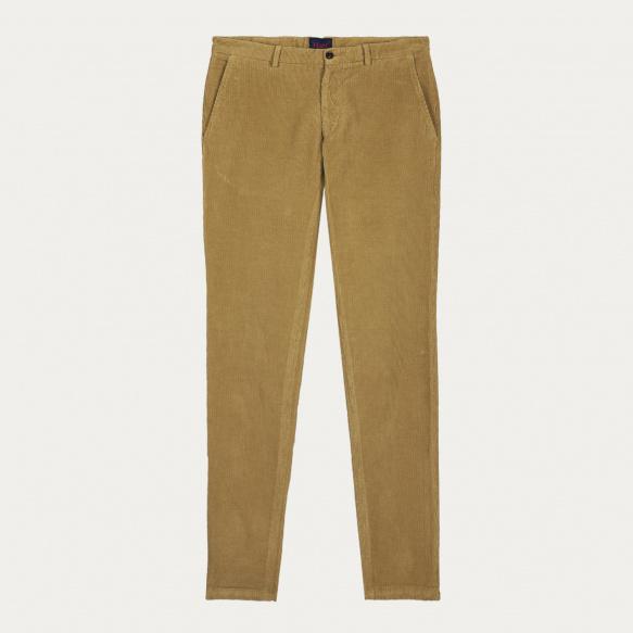 Sand corduroy chino pants