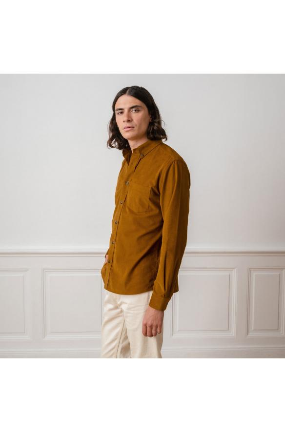 Chemises en velours : découvrez notre sélection | Hast