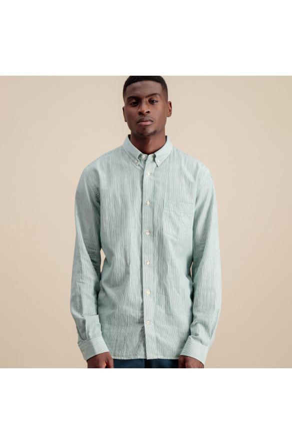Chemises vertes